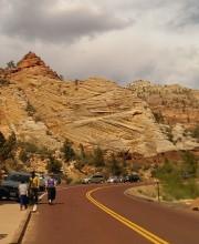 Aoelian Cross-sets in Navajo Sandstone, Zion National Park, Utah Photo Courtesy of Mark Johnson 2014
